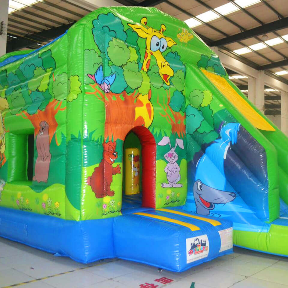 Inflatable Animal Castle