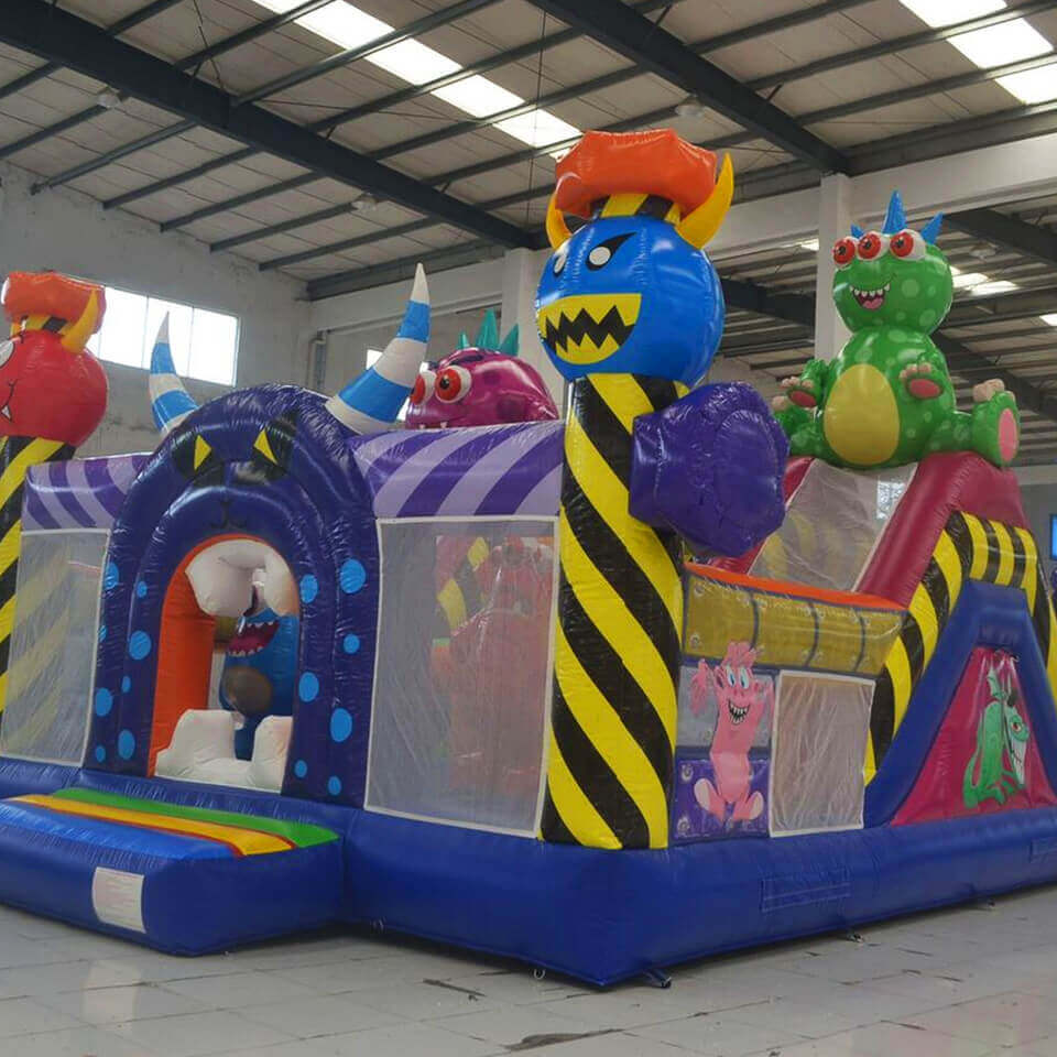 Monster Maze Bouncy Castle